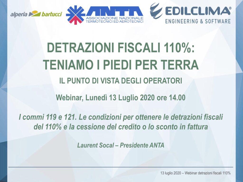 Webinar Detrazioni fiscali 100% | CEI GROUP | ceigroup.it